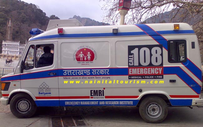 Emergency Service in whole Uttarakhand  Dail 108