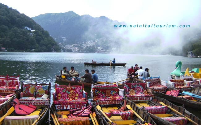 Boating  in Nainital Lake