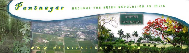 Pantnagar :- Pantnagar brought the green revolution in India
