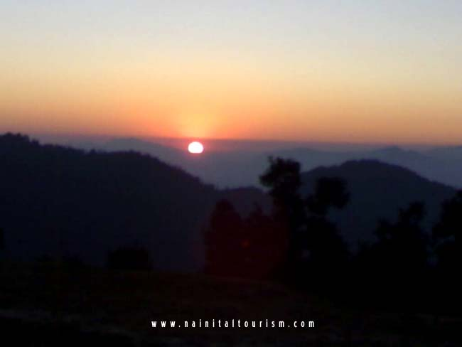Sunset From Kausani