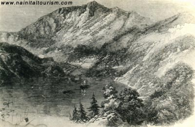 (1857) RARE AND THE ONLY PHOTO OF NAINITAL