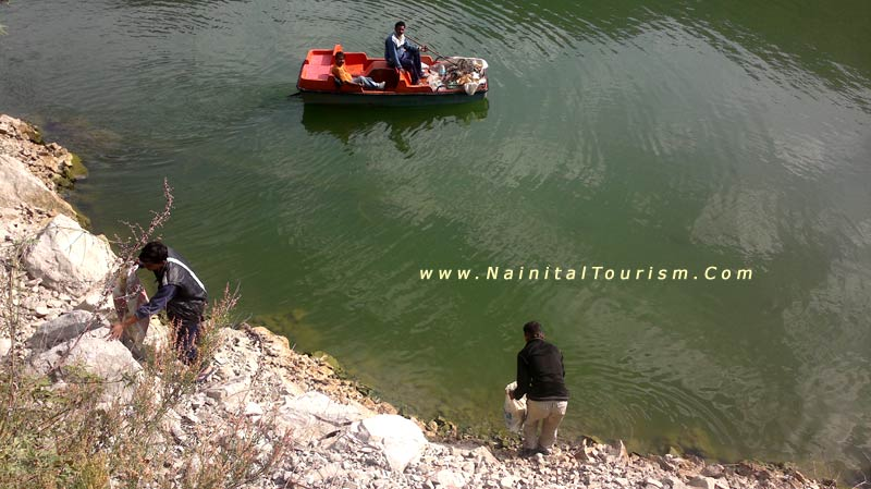 Nainital Lake Cleaning