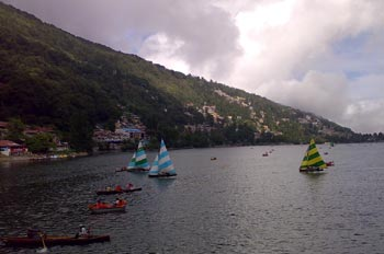 Boating On The Nainital Lake