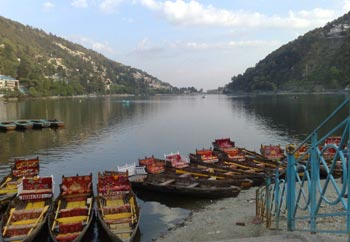 Boating at Nainital