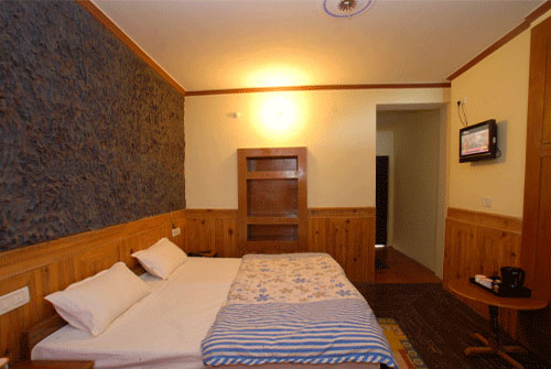 ROOM OF HOTEL MONAL