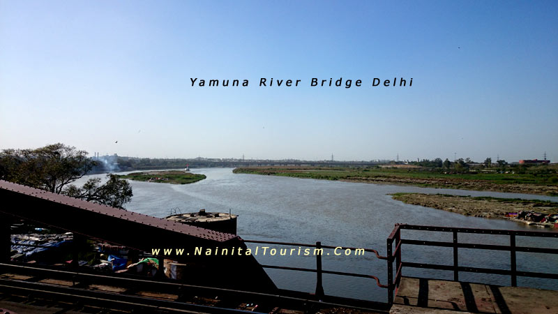 Yamuna River Bridge Delhi
