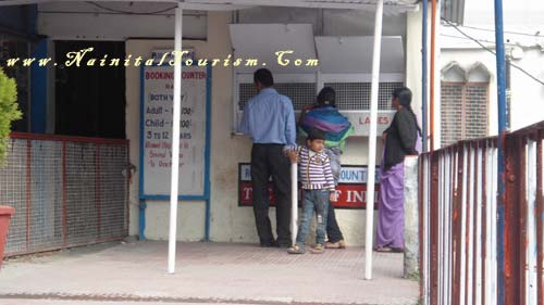 Rope Way - Cable Car Stand Mallital Booking Counter