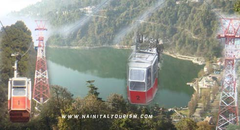 CABLE CAR RIDE IN NAINITAL