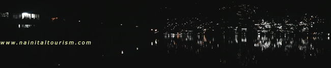 Night View Of The Naini Lake